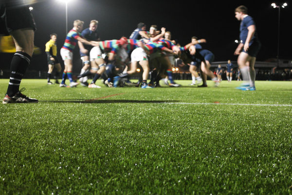 Rugby surface makes its debut for Canterbury Academy