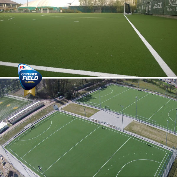 Flemish hockey clubs go for Lano's renowned water-based pitches