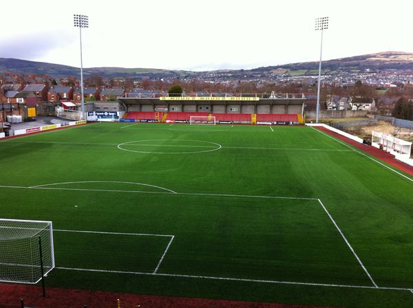 Cliftonville FC's pitch meets FIFA 2-star standard 8 years running