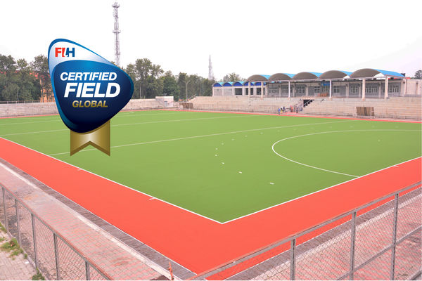 Indian hockey stars now play on Lano Sports water-based hockey field